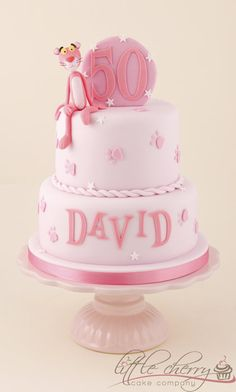 CakesDecor ~ community        Cakes      Blogs      Recipes      Tutorials      Forums        Pulse      Members    46282-25x25  Pink Panther Cake