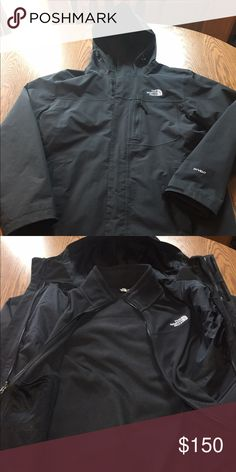 Men's Medium 3 in 1 TriClimate NorthFace Men's Medium 3 in 1 TriClimate Jacket in excellent condition.  My son wore this for about a month and he grew!  It still retails in stores for $290. I'm just trying to recoup some of the money toward his new one since he only wore it for about a month!  Our loss is your gain! North Face Jackets & Coats Ski & Snowboard