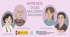 Aprende coas mulleres galegas   Mulleres en Galicia Victoria, Infancy, Life, Teaching Resources, United States, Woman