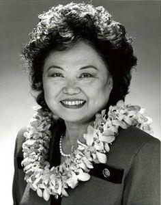 Patsy Mink - 1st Asian-American Congresswoman