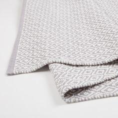 Image 3 of the product Grey argyle rug