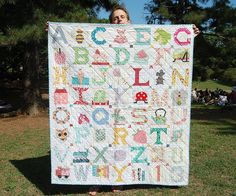 The most lovely quilt put together by my friends! by ayumills, via Flickr