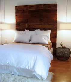 I love repurposed headboards--going to be my first DIY after the election, along with a coffee table!