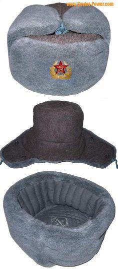 Russian Army Sergeant USHANKA winter hat for sale - buy online a61c9ec00df5