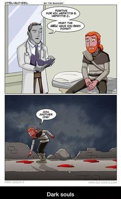 Be Careful Playing Dark Souls