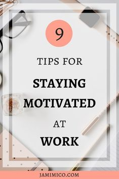 Do you struggle to stay motivated at work? My mind is constantly wandering to the things I would rather be doing. Here are some tips to help you stay motivated at work! Work Productivity, Productivity Quotes, Career Development, Professional Development, Team Building Activities For Adults, Work Motivation, How To Stop Procrastinating, Time Management Tips, Work Life Balance