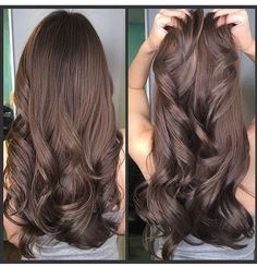 Rich, creamy, chocolate melts. Chocolate brown hair color is not only beautiful but versatile. It works on the color of the skin from light to dark and can be a sexy or dazzling female-side charm. …