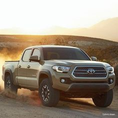 Wear your dirt proudly. #Toyota #Tacoma