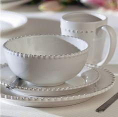 Esperanza Dinnerware Set from Joss and Main ...But I got them at Homesense! I LOVE them...