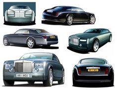 ca. 1990s rolls-royce phantom concepts,(c) rolls-royce motor cars