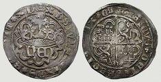 Real de plata, Segovia (después 1471), Enrique IV.