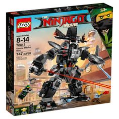 The Lego Ninjago Garma Mecha Man set - a great selection of Lego construction sets at Wonderland Models. All Lego construction sets are beautifully detailed and hard-wearing and are also great collectors items for the Ninjago movie enthusiast. Ninjago Lego Sets, Lego Ninjago Movie, Ninjago Party, Chewbacca, Power Rangers, Lego Knights, All Lego, Lego Toys, Lego Lego