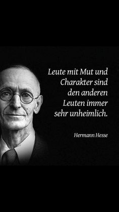 Charakter - Gute Texte - Charakter - What should a healthier eating number be? Hermann Hesse, Citation Style, Letras Cool, Words Quotes, Sayings, German Quotes, Cool Lyrics, Love Live, Nature Quotes