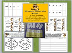 Third Grade Thinkers: Exploring Place Value: Pocket Chart and Card Game