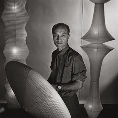 Isamu Noguchi, Sculptor, New York, 1955 by Louise Dahl-Wolfe Art Photography Portrait, History Of Photography, Portraits, Photography Magazine, Isamu Noguchi, Noguchi Lamp, Richard Avedon, Lauren Bacall, Matt Hardy