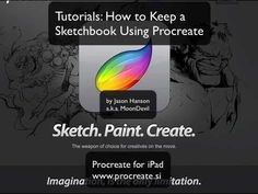 ▶ How To Keep a Sketchbook Using Procreate - YouTube