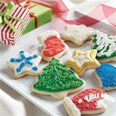Holiday Cut-Out Cookies recipe from Eagle Brand® Sweetened Condensed Milk