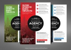 Modern Business Agency Flyer by Party Flyers on @creativework247