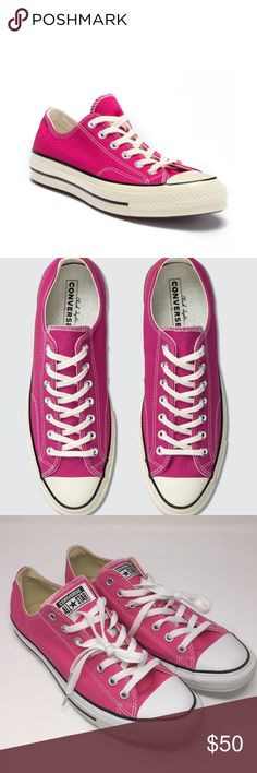 Pink Converse Sneakers -- Women s 12 Men s 10 Bright Pink Converse. These  are 739384606