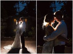 Last pictures of the bride and groom at the end of their wedding night. Iowa Wedding Photography | CTW Photography