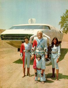 I was just recently reminded of the Ark II TV show!  I remember watching this quite a bit on Saturday mornings in the 70's!  Best of all, it had a real jetpack!