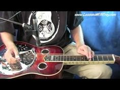 Man of Constant Sorrow - Dobro Lesson With Troy - YouTube