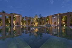 Moroccan tradition and oriental charm are united in this incomparable luxury resort. The Mandarin Oriental in Marrakech offers stunning villas...