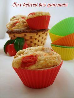 muffins salés aux tomates