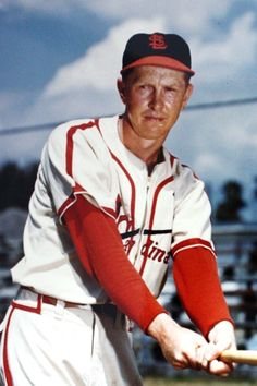 Red Schoendienst - elected to National Baseball Hall of Fame in 1989