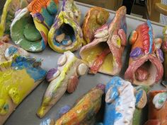 What's New in the Nelson Art Room?: Search results for taco fish 2nd grade clay project