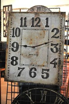 Vintage Wall Clock - via CuriousSofa.com Blog: Northern Exposure