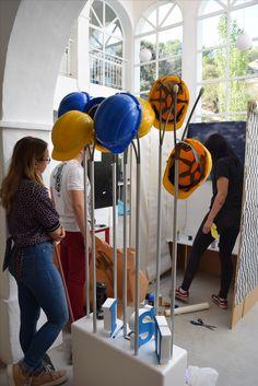 Amazing workshop of our new first year students!  #marbelladesignacademy #designyourfuture #artoftheday #MDA2017