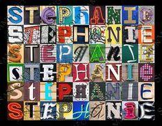 Stephanie graffiti art