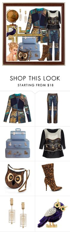 """Made To Strut!"" by bren-johnson ❤ liked on Polyvore featuring Etro, Retrò, Alberta Ferretti, NOVICA and MSGM"