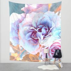 Buy Vintage roses(6). Wall Tapestry by Mary Berg. Worldwide shipping available at Society6.com. Just one of millions of high quality products available. #vintage #loverose #walltapestry #society6 #contemporary #women #design #yellow #purple #maryberg