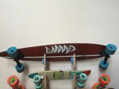 "My first handmade longboard ""Foodchain"""