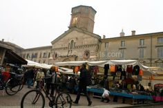 "The city market of Reggio Emilia - ""Reggio Emilia: One Town, All the Best Food of Italy"" by @Caroline Cloutier"