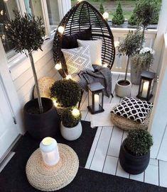 Apartment Balcony Decorating, Apartment Balconies, Apartments Decorating, Garden Furniture, Furniture Design, Outdoor Furniture, Furniture Ideas, Furniture Makeover, Antique Furniture