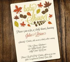 5 DIY Fall Themed Baby Shower Invites For Your Autumn Celebration | Disney Baby