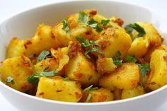 Batatas com gengibre