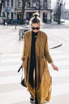 10 ways to wear kimono in summer