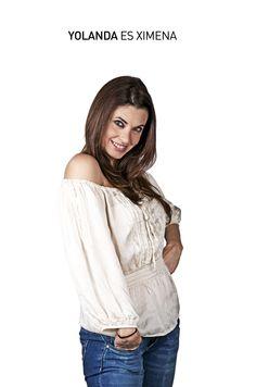 Ella es Yolanda Ventura e interpreta a Ximena en Cheka tu Mail. ¡GRAN ESTRENO 14 DE AGOSTO!