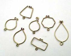 HowTo Make a Brass Framed Pendant