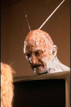 Welcome to prime time bitch!!!! Freddy Kruger.  A nightmare on elm street 3 dream warriors