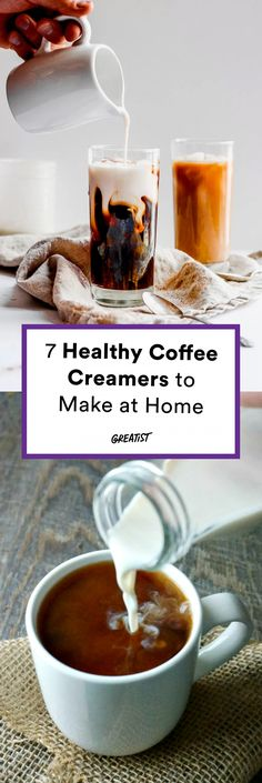 Be your own barista. #greatist https://greatist.com/eat/healthy-coffee-creamers-to-make-at-home