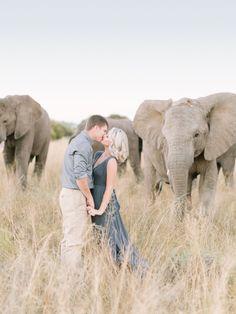 Breathtaking safari e-sesh: http://www.stylemepretty.com/destination-weddings/2015/09/02/romantic-south-african-safari-engagement-session/ | Photography: Rensche Mari - http://www.renschemari.com/