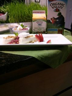 Get a recipe for Panna Cotta from Organic Valley on our website. Twincitieslive.com