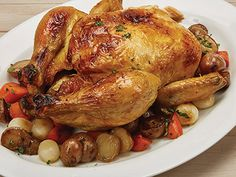 Visit our website to get delicious air fryer recipes you can make in your Power Air Fryer XL. Order your air fryer and start cooking healthy meals today! Roast Chicken Recipes, Herb Recipes, Roasted Chicken, Amish Recipes, Air Fryer Recipes No Oil, Air Fryer Cooker, Philips Air Fryer, Slow Cooker Recipes, Cooking Recipes