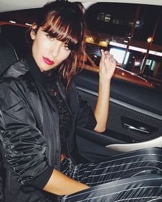 WEBSTA @ ana_albadalejo - Let's go to the Party! @elle_spain @dkny #betempted