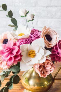 Felt Flower Bouquet Princess/Weddings